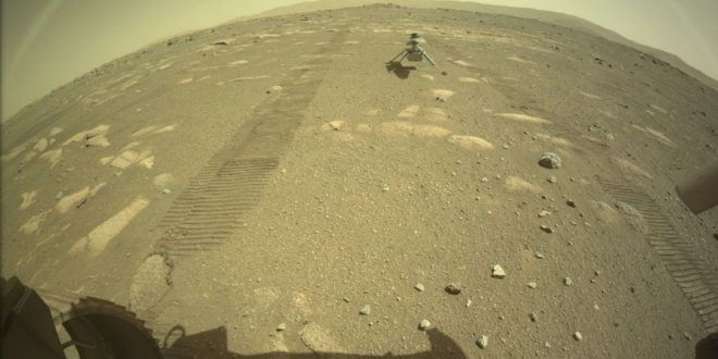 NASA's Ingenuity Helicopter Has Successfully Landed on the Surface of Mars