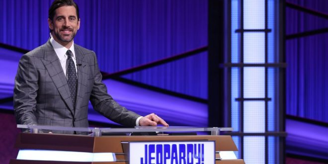Rodgers says he'd love to be 'Jeopardy!' host