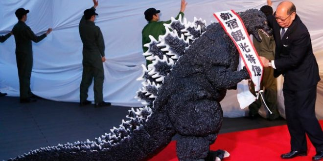 In 2015, Godzilla became an official Japanese citizen and was also employed as a tourism ambassador of japan.