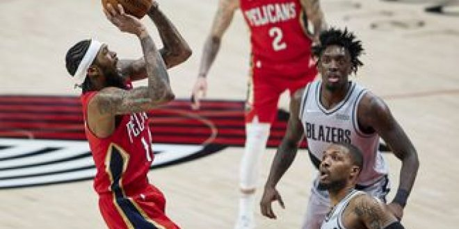 Lillard scores 50, Blazers rally past Pelicans 125-124