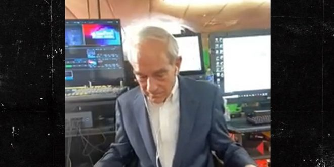 Ron Paul Wears Daisy Dukes with Suit Jacket for Interview