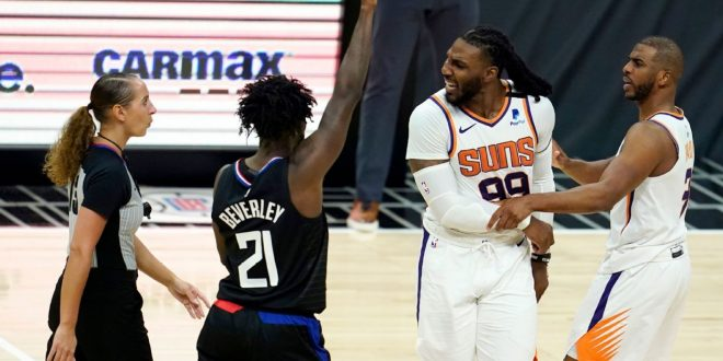 George lets Suns 'do the chirping' as Clips win