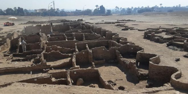 Discovery of 3,400-Year-Old Ancient Egyptian City Stuns Archaeologists