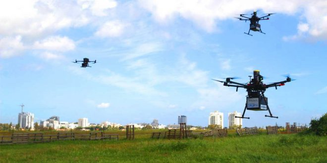 FlyTech wins two-year pilot contract for drone deliveries in Israel