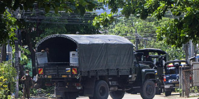 Reports: Myanmar forces kill 82 in single day in city
