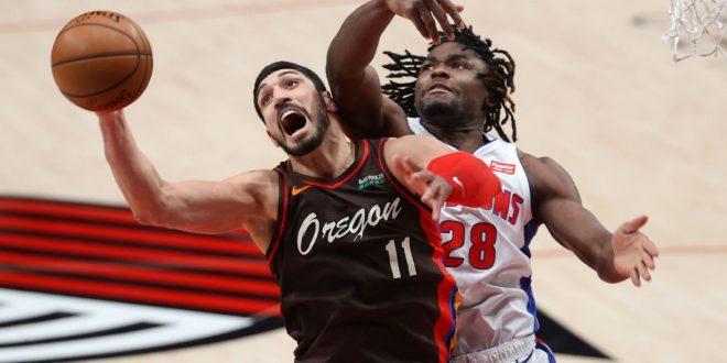 Kanter pulls down Blazers-record 30 rebounds