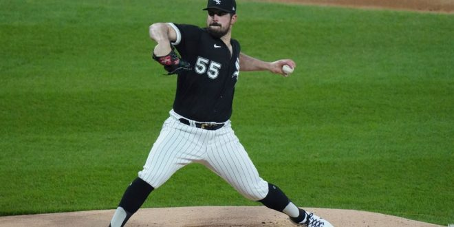 White Sox's Rodon throws no-hitter vs. Indians