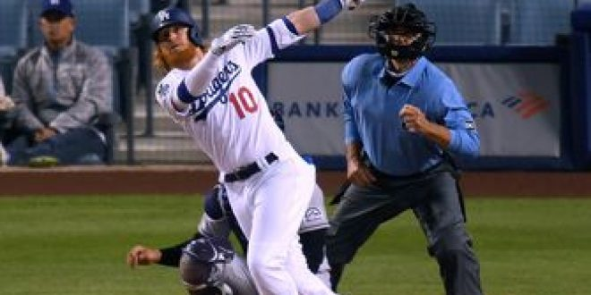 Dodgers get by the Rockies, helped by Turner, McKinstry home runs