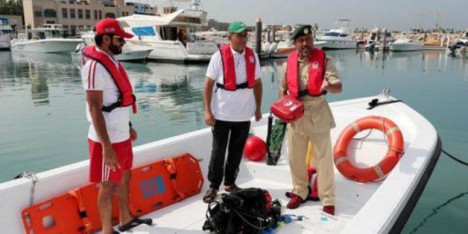 Dubai Police responds to 65 distress calls at sea through its Sail Safely service