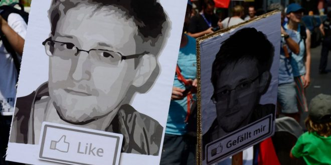 Edward Snowden's NFT Self-Portrait Sells for $5.4 Million in Charity Auction