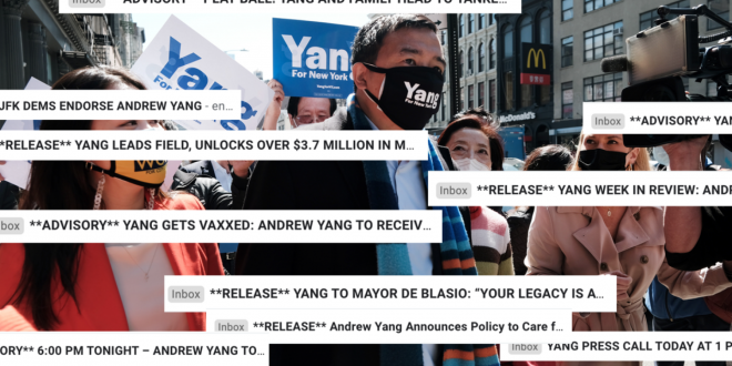 Andrew Yang Hath Wrought Havoc on My Email