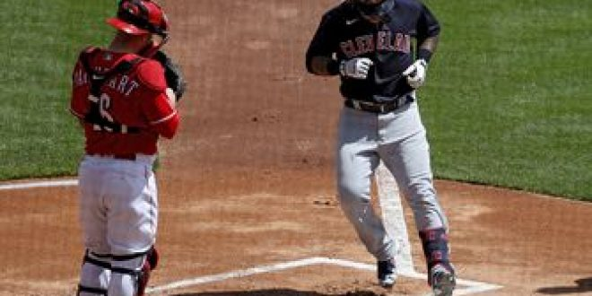 Indians club three homers to get by Reds, 6-3