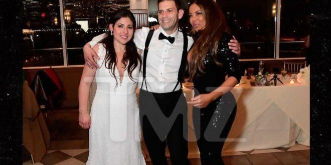 'RHONJ' Star Dolores Catania Crashes Jersey Wedding, Leaves Nice Gift