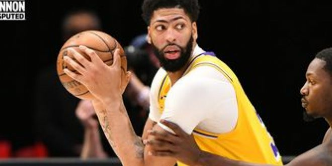 """Shannon Sharpe on Anthony Davis' """"encouraging"""" return to Lakers after missing 9 weeks   UNDISPUTED"""