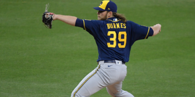 Corbin Burnes strikes out 10 Padres in Brewers 6-0 shutout