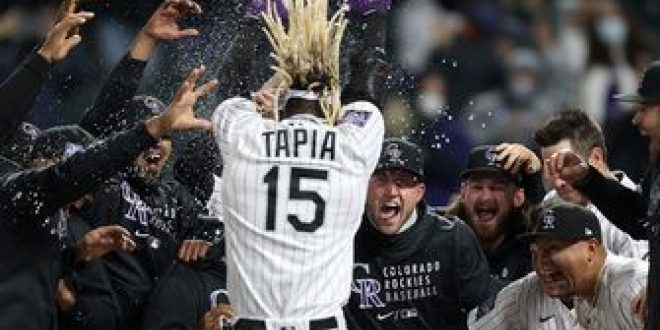 Raimel Tapia hits walk-off home run for Rockies in 5-4 win over Phillies