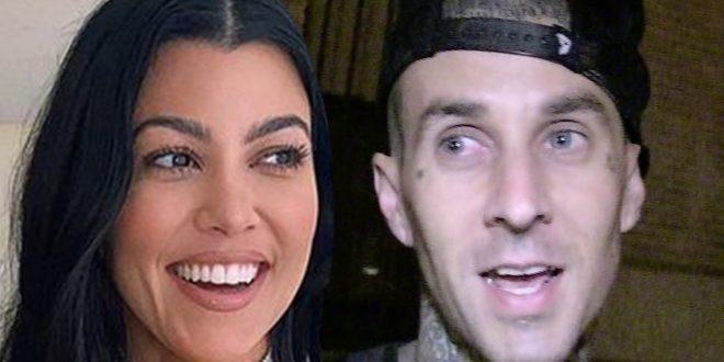 Travis Barker Suggests Kourtney Kardashian Is a Biter