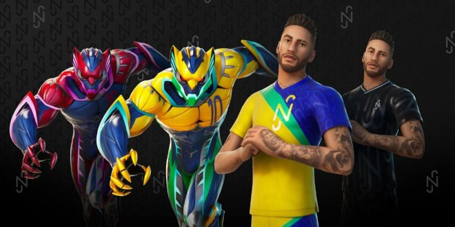 Neymar joins Fortnite! First look as star becomes game's first playable athlete
