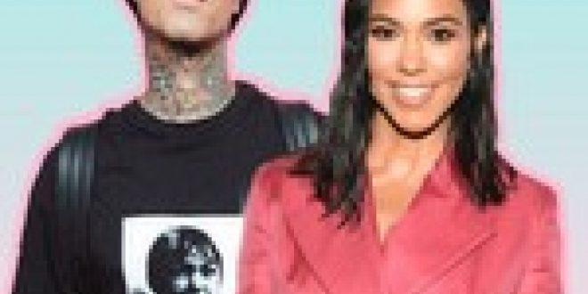Kourtney Kardashian Shows Off a Romantic Birthday Gift From Travis Barker
