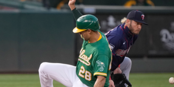 Seth Brown knocks in lone run in Athletics' 1-0 win over Twins