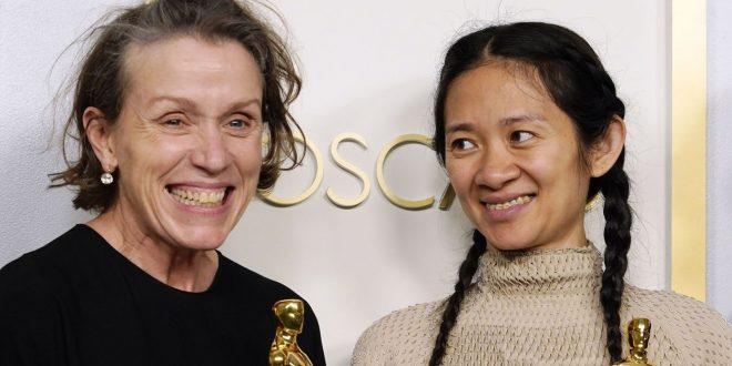 Wolf Queen Frances McDormand Howls After Winning Nomadland Oscar