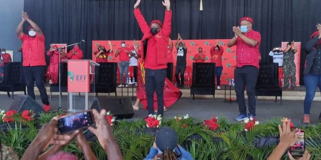 'White people must apologise to black South Africans' – Malema stirs controversy