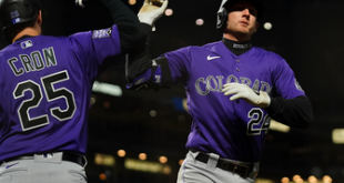 Ryan McMahon and C.J. Cron power Rockies to 7-5 win over Giants in extras