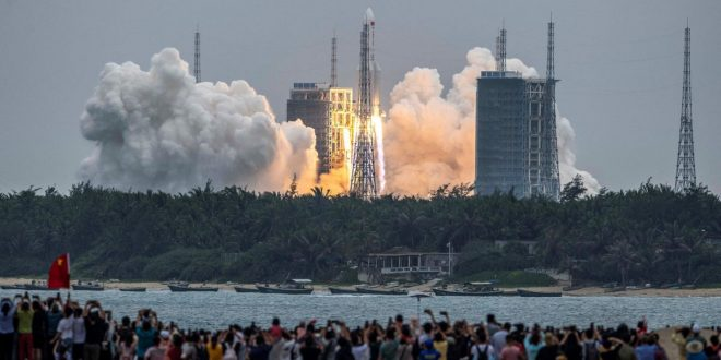China's Space Station Is a Step Closer to Reality With Launch of Core Module