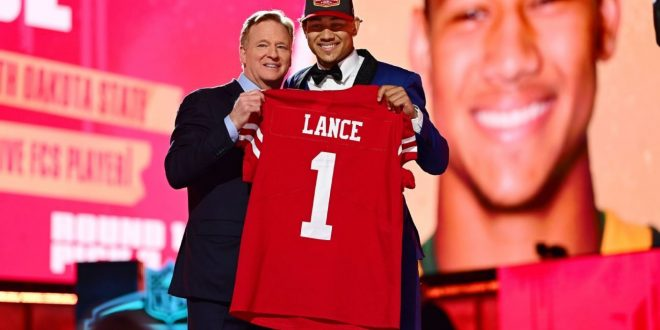 Niners take QB Lance but want Jimmy G to stay
