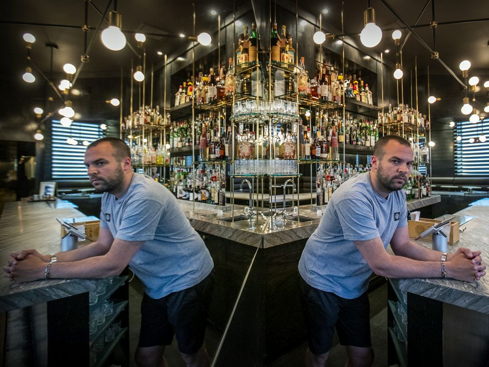 """""""We're in a real bind,"""" says Jean-Philippe Haddad, co-owner of Cloakroom Bar on de la Montagne St. """"If the situation continues for long, I don't know how many bars here can survive."""