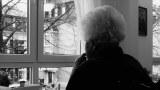 old woman window