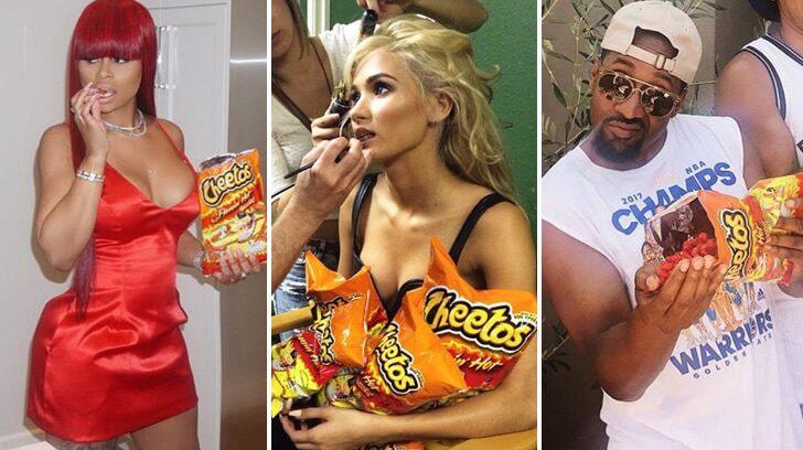 Stars Who Love Cheetos