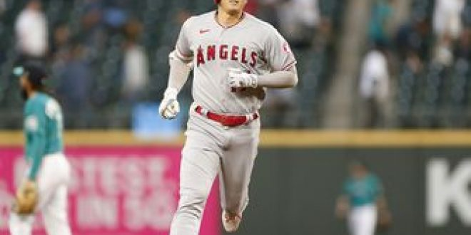 Shohei Ohtani clubs eighth homer of 2021, but Angels fall 7-4 to Mariners