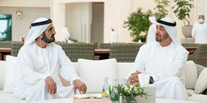 Sheikh Mohammed bin Rashid and Sheikh Mohammed bin Zayed discuss UAE's return to normalcy