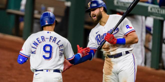 Isiah Kiner-Falefa, Jose Trevino go yard to power Rangers over Red Sox, 4-1