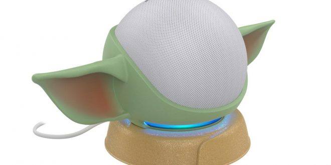 Turn Your Amazon Echo Dot Into an Aging Baby Yoda With Male Pattern Baldness