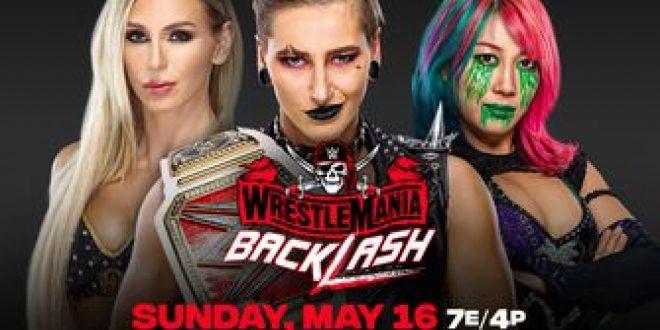 Raw Women's Champion Rhea Ripley vs. Asuka vs. Charlotte Flair (Triple Threat Match)