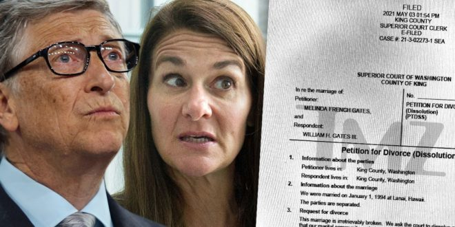 Bill and Melinda Gates File for Divorce and No Prenup