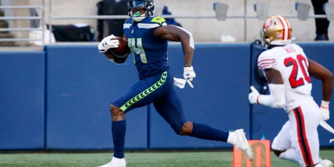Seahawks WR Metcalf to run at USA track event