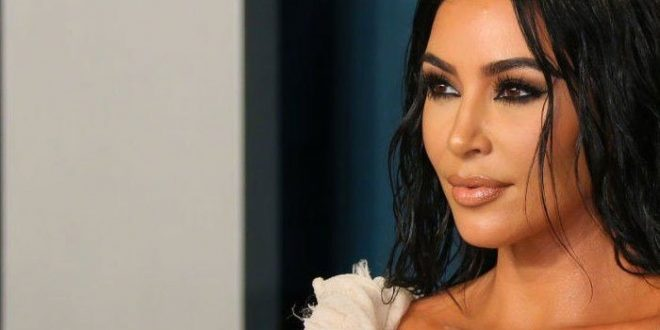 Kim Kardashian all smiles as she parties with friends