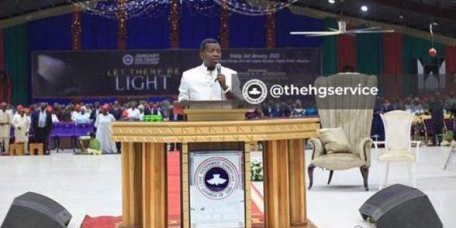 Pastor Adeboye Preaches At Church Holy Communion Service Despite Son's Death