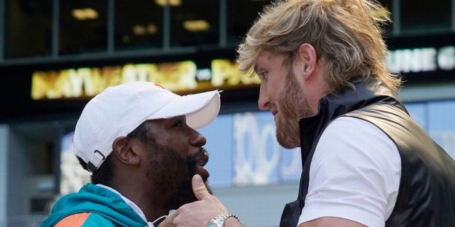 Hat's off: Jake Paul sparks Mayweather scuffle