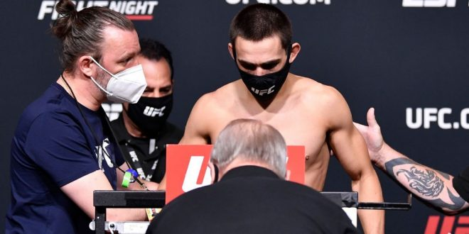 Benoit pulled from UFC card after shaky weigh-in