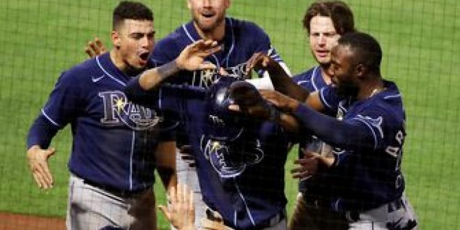 Rays extend win streak with come from behind win over Angels, 8-3