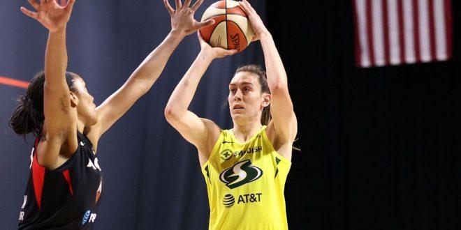 Storm's Stewart, Aces' Wilson lead way in top 25 WNBA player rankings