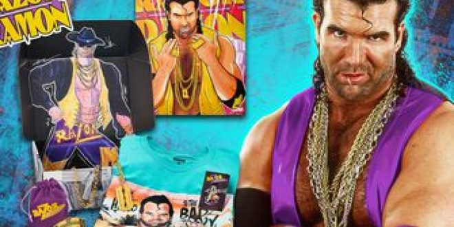Razor Ramon Limited Edition Collector's Box available on WWE Shop