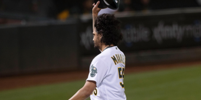 Sean Manaea takes no-hitter into the eighth as Athletics walk-off against Rays, 2-1