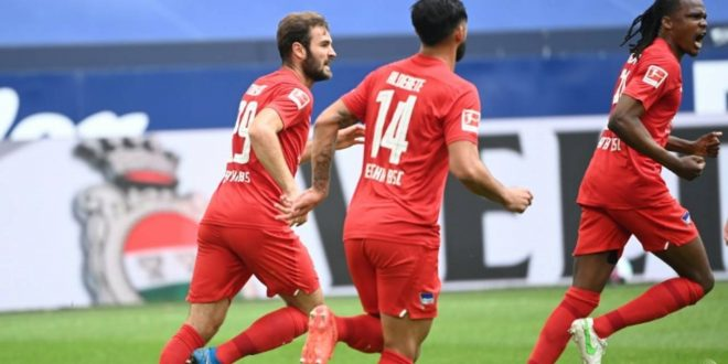 Football: Hertha Berlin boost survival hopes with win at Schalke