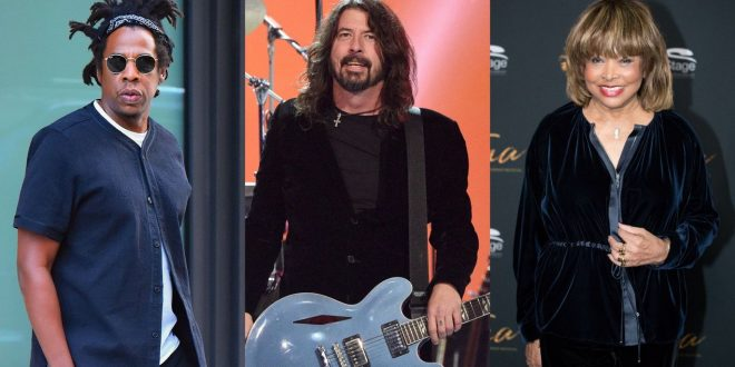 Jay-Z, Foo Fighters, Tina Turner And More Will Be Inducted Into Rock & Roll Hall Of Fame