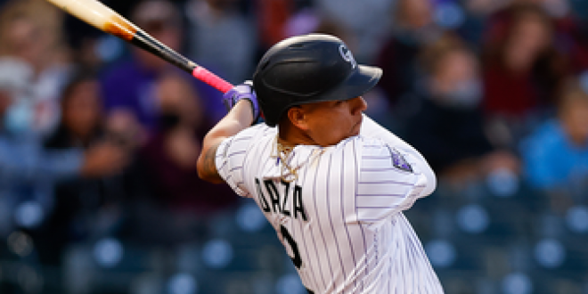 Yonathan Daza goes 3-for-4, drives in three runs in Rockies' 9-6 win over Reds